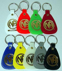 plastic key tags